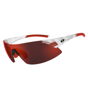 Tifosi Podium XC Interchangeable Sunglasses - Matte Crystal/Clarion Red