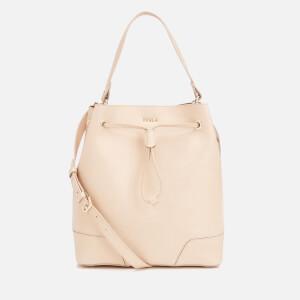 Furla Women's Stacy Medium Drawstring Bag - Acero