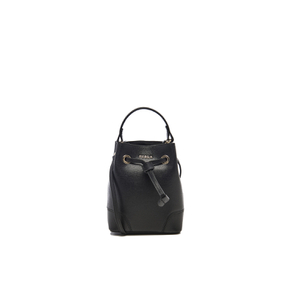 Furla Women's Stacy Mini Drawstring Bag - Onyx