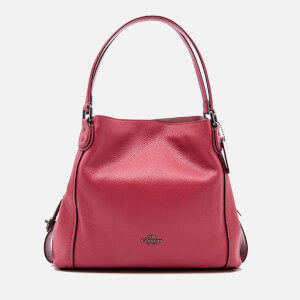 Coach Women's Edie Shoulder Bag - Rouge