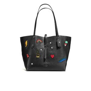Coach Women's Market Tote Bag - Black