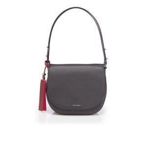 PS by Paul Smith Women's PS Leather Saddle Bag - Black