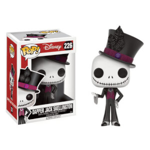 The Nightmare Before Christmas Dapper Jack Skellington LE Pop! Vinyl Figure