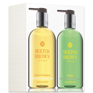 Molton Brown Lemon, Mandarin and Puritas Hand Wash Set 2 x 300ml