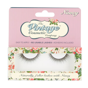 The Vintage Cosmetic Company Nancy ciglia finte a nastro