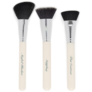 The Vintage Cosmetics Company Contour Eye Make-Up Brush Set
