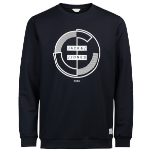 Sweat Main Jack & Jones -Bleu Marine