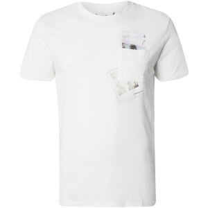 Jack & Jones Originals Men's Check T-Shirt - White