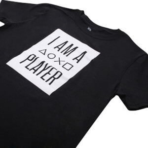 PlayStation Men's I Am A Player T-Shirt - Black: Image 3