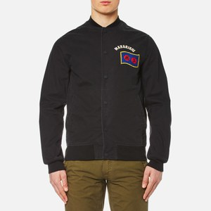 Maharishi Men's Year of the Rooster Stadium Jacket - Black