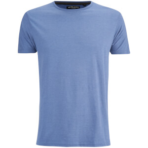 Brave Soul Men's Grail T-Shirt - Blue Marl