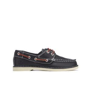 Timberland Kids' Seabury 2-Eye Boat Shoes - Navy Smooth