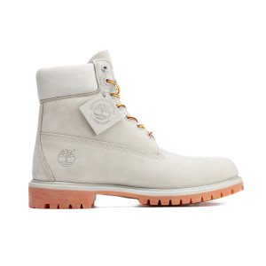 Timberland Men's 6 Inch Premium Lace Up Boots - Flint Grey