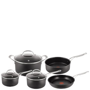 Jamie Oliver by Tefal H902A544 Hard Anodised Non-Stick 5 Piece Cookware Set