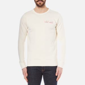 Maison Labiche Men's Rebel Rebel Sweatshirt - Off White