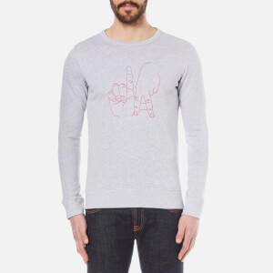 Maison Labiche Men's LA Sweatshirt - Heather Grey