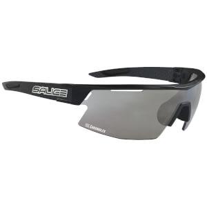 Salice CSPEED CRX Photochromic Sunglasses - Black/Smoke