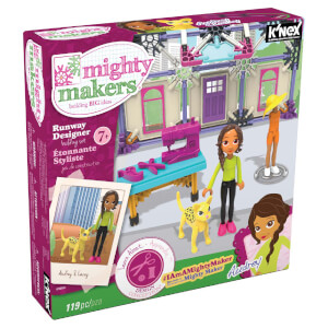 K'NEX Mighty Makers Runway Designer Building Set (43066)