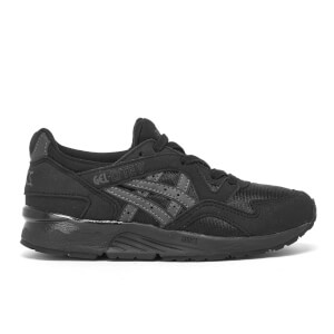Asics Kids' Gel-Lyte V Mesh Trainers - Black/Dark Grey