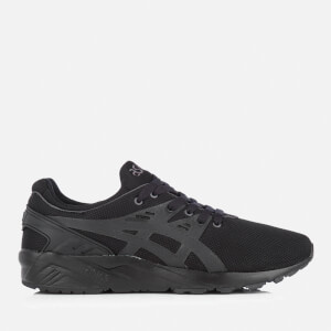 Asics Men's Gel-Kayano Evo Mesh Trainers - Black/Black