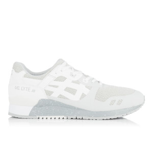 Asics Men's Gel-Lyte III Ns Mesh Trainers - Glacier Grey/White