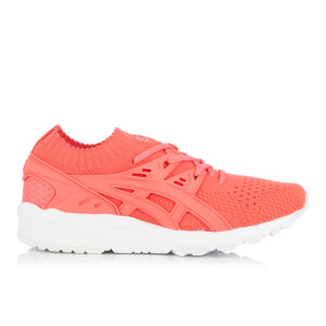 Asics Women's Gel-Kayano Knit Trainers - Peach/Peach
