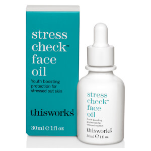 this works Stress Check 面部調理油 30ml