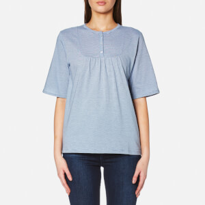 A.P.C. Women's Camilla Top - Blue