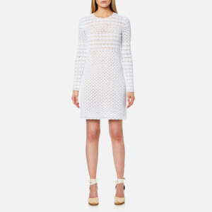 MICHAEL MICHAEL KORS Women's Crochet Sweater Dress - White