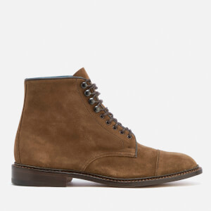 Knutsford by Tricker's Men's Scott Ultra Flex Suede Lace Up Boots - New Brown