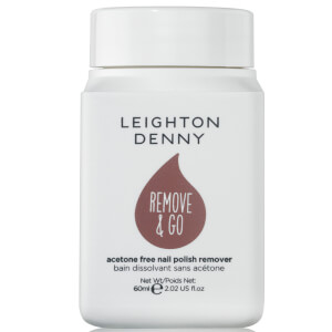 Leighton Denny Remove and Go Polish Remover - Salted Caramel 60ml