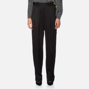 Diane von Furstenberg Women's Full Length Soft Pants - Black