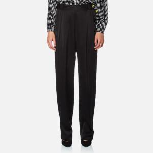 Diane von Furstenberg Women's Full Length Soft Pants - Black