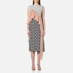 Diane von Furstenberg Women's Sleeveless Ruffle Dress - Vermier
