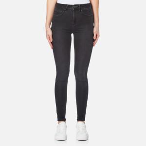 Waven Women's Asa Mid Rise Skinny Jeans - Earl Grey