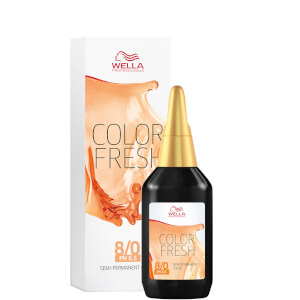 Wella Professionals Color Fresh Semi-Permanent Colour - 8/0 Light Blonde 75ml