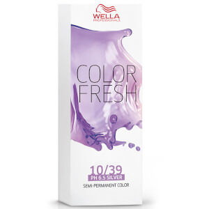 Color Fresh de Wella rubio dorado claro 10/39 75 ml