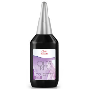 Wella Color Fresh biondo medio dorato 7/3 75 ml