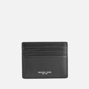 Michael Kors Men's Saffiano Harrison Tall Card Case - Black