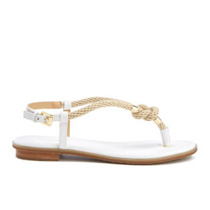 MICHAEL MICHAEL KORS Women's Holly Rope Strap Sandals - Optic White