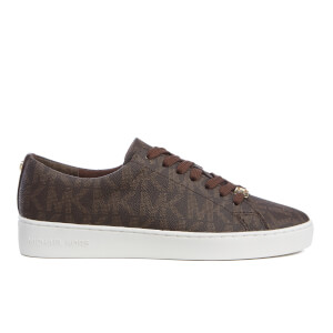 MICHAEL MICHAEL KORS Women's Keaton Stripe Trainers - Brown