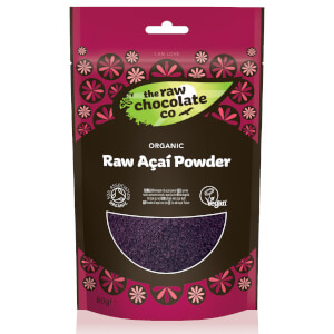 The Raw Chocolate Company Organic Raw Acai Powder - 80g