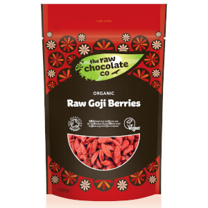 The Raw Chocolate Company Organic Raw Goji Berries - 150g