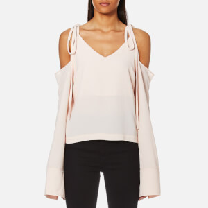 House of Sunny Women's Cold Shoulder Top - Baby