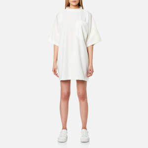 House of Sunny Women's Clean Pocket Oversized Basic T-Shirt - Clean