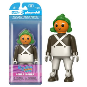 Funko x Playmobil: Willy Wonka - Oompa Loompa Action Figur