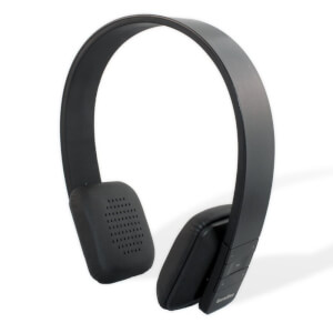 Garadise On Ear Bluetooth Headphones with Mic - Black