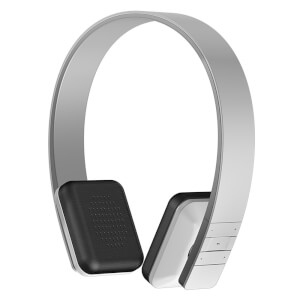 Garadise On Ear Bluetooth Headphones with Mic - White