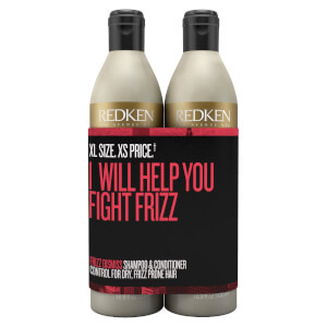 Redken Frizz Dismiss Shampoo and Conditioner Duo 500ml