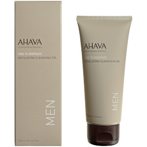 AHAVA Men's Exfoliating Cleansing Gel 3.4oz